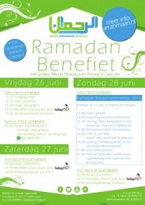 Benefiet 2015 Moskee Arrahmaan Eindhoven